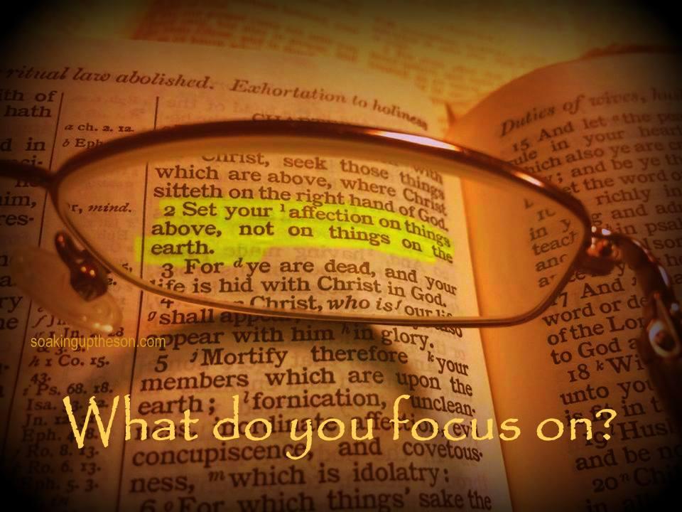 focus-on-God